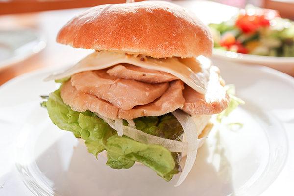 丹精國鶏の照り焼きバーガー